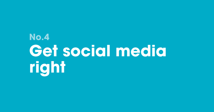 B2B marketing resolution 4: Get social media right