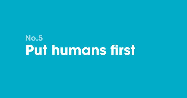 B2B marketing resolution 5: Put humans first