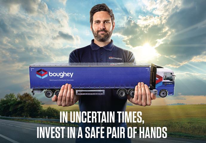 Boughey safe pair of hands avert by Intermedia B2B marketing agency