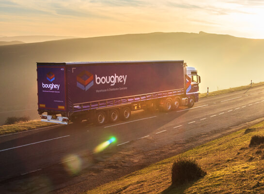 B2B marketing campaign for Boughey Distribution]