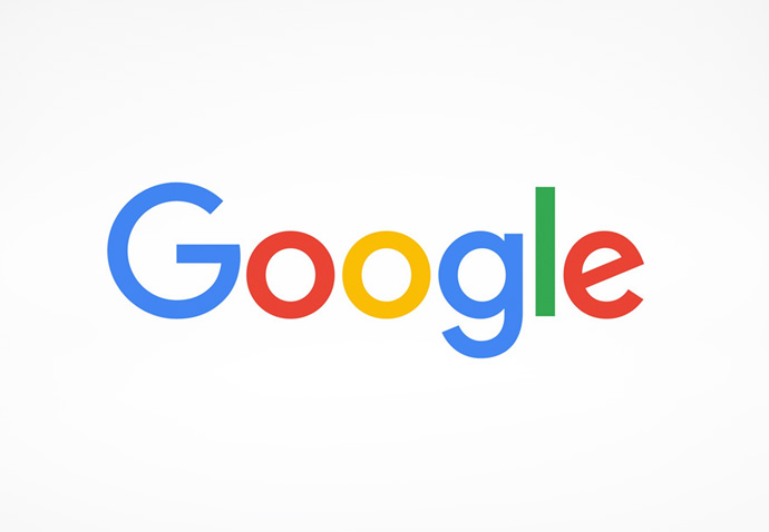 Google logo on a white background