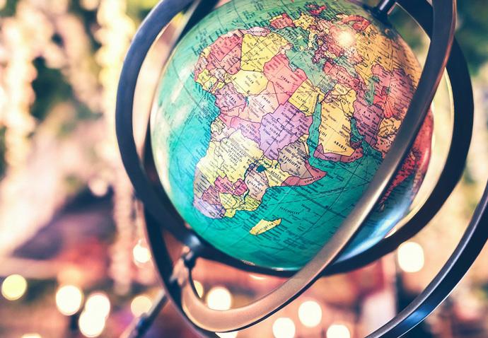 A globe representing multi-local marketing strategy