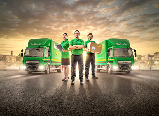 B2B marketing campaign for Tuffnells Parcels Express