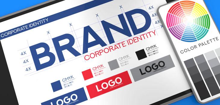 Image of designer's brand design template